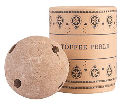 Deluxe Badebombe Toffee Perle, 180 Gramm schwere XXL Badekugel mit pflegender Kakao Butter, vegan & tierversuchsfrei, von Venize