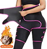 POIUY 3 in 1 Butt Lifter Shaper Waist Trainer Belt High Waist Thigh Trimmer for Women Weight Loss,Waist Cincher Trimmer,Slimming Body Shaper Belts/M 1PCS