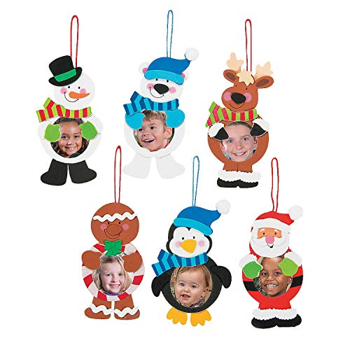 Christmas Character Picture Ornament Ck - Crafts for Kids and Fun Home Activities