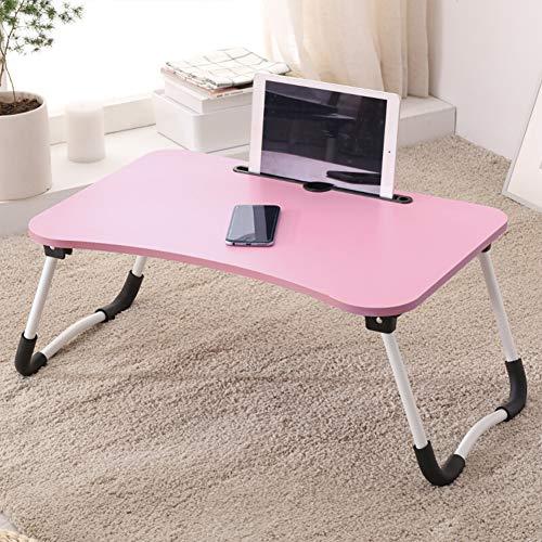 Mesa Ordenador Portátil Multifunción Bandeja Cama de Desayuno para sofá, Cocina,Escritorio Cama Mesa plegaable,Laptop Desk,(59x39.5cm)