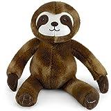 Mousehouse Gifts - Oso perezoso de peluche de color marrón - Para niños y niñas - 40cm