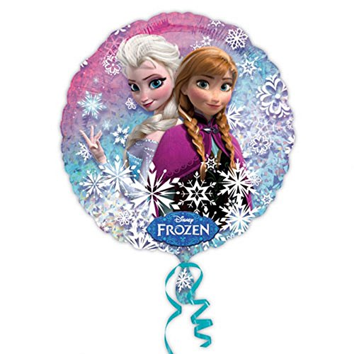 1 x Folienballon Frozen Anna und Elsa, 46 cm, Die Eiskönigin, Ballon, Luftballon