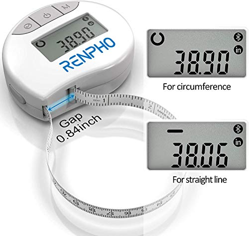 Bluetooth Measuring Tapes for Body Body Tape Measure with Smart App