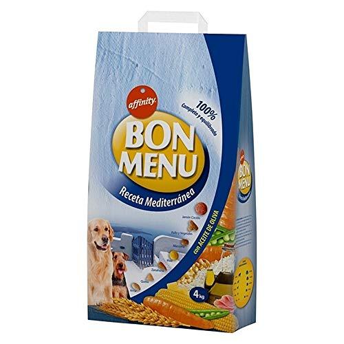Affinity Bon Menu Receta Mediterránea Alimento para Perros - 4 kg.