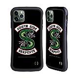 Head Case Designs Offizielle Riverdale South Side Serpents Grafik Kunst Hybride Handyhülle Hülle Huelle kompatibel mit Apple iPhone 11 Pro Max