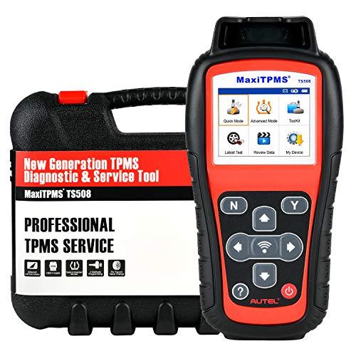 Autel MaxiTPMS TS508 [Migliorata di TS501/ TS408], 2021 Più Nuovo TPMS Strumento di Riapprendimento, Programma MX-Sensore (315/ 433MHz), Attivazione/Riapprendimento Sensori