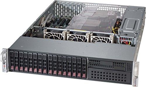 Supermicro CS CSE-213AC-R1K23LPB 2U E-ATX/ATX 16x2.5 hot-swap SAS/SATA