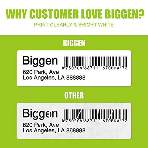 """Biggen Compatible Paper Roll Replacement for DYMO 30256 Large Shipping Postage 2-5/16"""" x 4"""", Labels for Dymo LabelWriter 400 450 Duo Twin Turbo 4XL Printer, 300 Labels Per Roll (8 Rolls) Photo #7"""