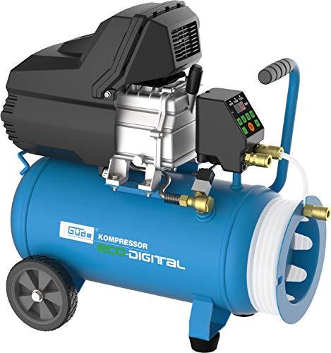 Güde 50126 260/10/24 ECO-Digital/ST Kompressor, 230 V, Blau