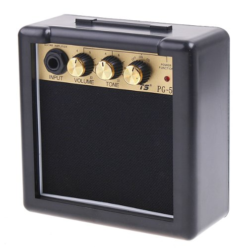 ammoon PG-5Electric Guitar Amplifier Speaker Volume Tone Control 5W