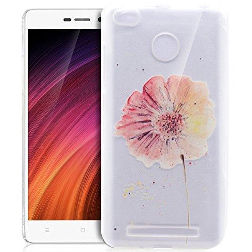Carcasa Xiaomi Redmi 3S, funda Xiaomi Redmi 3S, Xiaomi Redmi 3S Case, ikasus®–Carcasa Xiaomi Redmi 3S silicona funda funda teléfono protectora TPU Ultra Delgada Premium Semi Hybrid Crystal Clear Fle