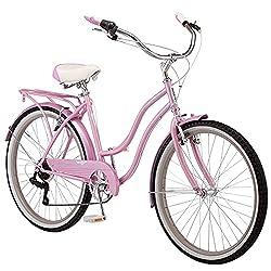 cheap Schwinn Perla Ladies Beach Cruise Bike 26inch Wheel Pink
