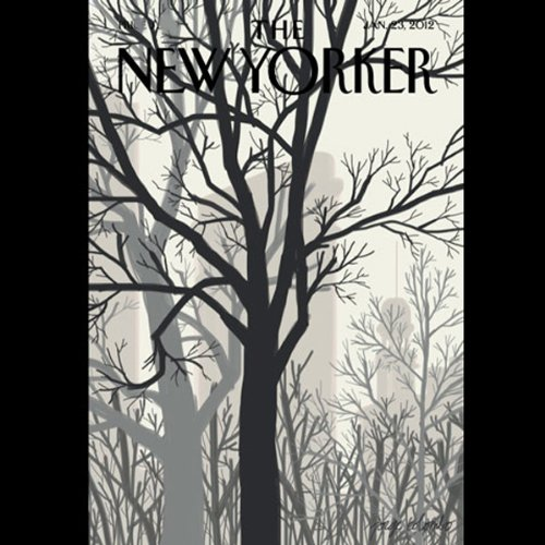 The New Yorker, January 23rd 2012 (Donald Hall, Ariel Levy, William Finnegan) audiobook cover art