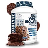 VMI Sports | Protolyte Whey Isolate Protein Powder | Low-Calorie Whey Protein Powder for Weight Loss | Protein Powder for Muscle Gain | Non-GMO (Chocolate Fudge Cookie, 4.6 Pounds)