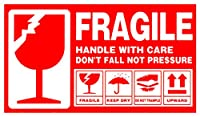 FRAGILE 壊れ物 取扱注意 ステッカー UPWARD キープドライ 1シート12シール×30枚 360枚セット