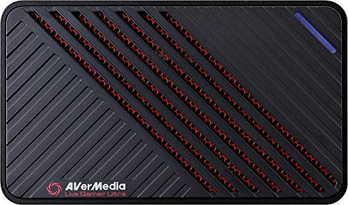 AVerMedia Live Gamer Ultra, Capturadora de vídeo y de streaming USB3.1, pass-through 4 KP60 hdr, muy débil latence, ENREGISTRE hasta 120 fps (gc553)