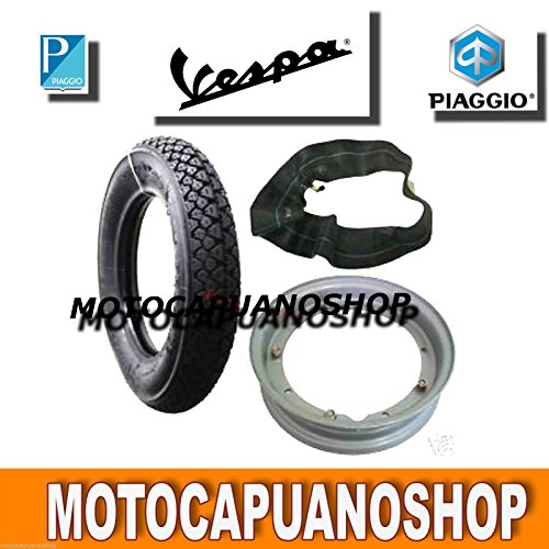 Kautschuk Reifen Michelin Camera Luft Felge 2759Vespa 50R L N