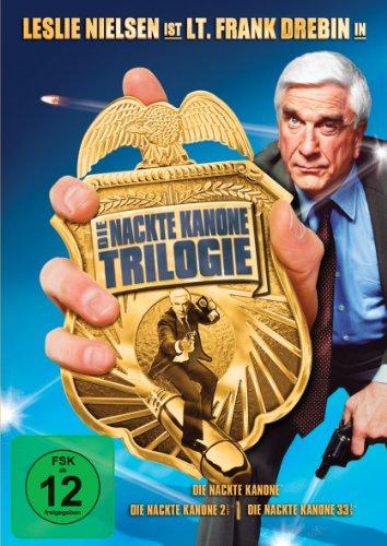 Die Nackte Kanone Trilogie (Die Nackte Kanone / Die Nackte Kanone 2 1/2 / Die Nackte Kanone 33 1/3) [3 DVDs]