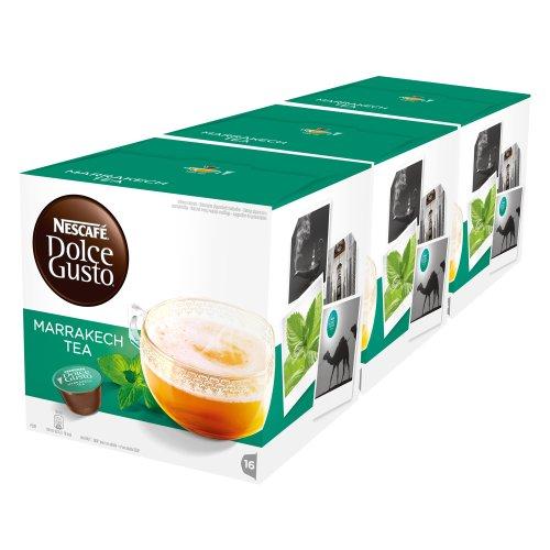 Nescafe Dolce Gusto Marrakesch Stil Tee (Pack von 3)
