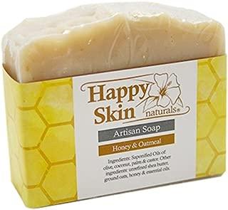 Happy Skin Naturals Honey & Oatmeal Artisan Soap