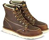 Thorogood 6' Moc Toe Boot, Brown Crazyhorse, 8 EE US