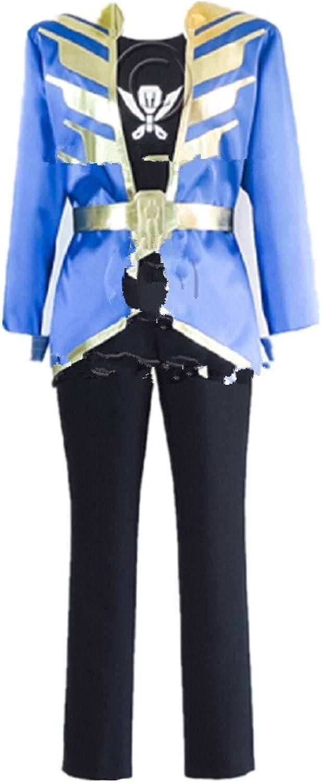 Kaizoku Sentai Gokaiger Gokai bluee cosplay costume