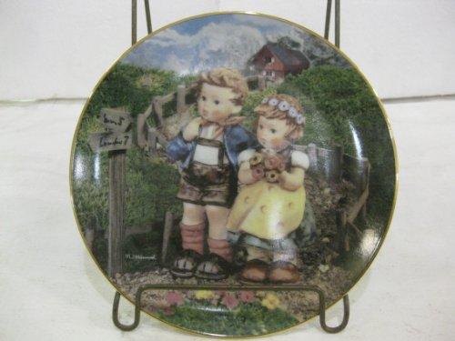 Plate The Danbury Mint M.J. Hummel Little Companions Country Crossroads Decorative