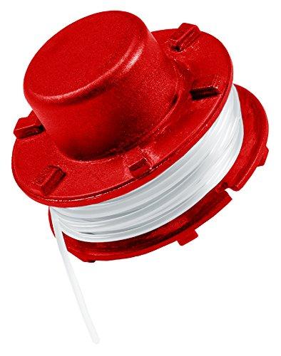 Original Einhell Ersatzfadenspule GE-CT 36/30 Li E (Rasentrimmer-Zubehör, passend für Akku-Rasentrimmer GE-CT 36/30 Li E Solo, Länge 8 m, aus Nylon, Durchmesser 2 mm)