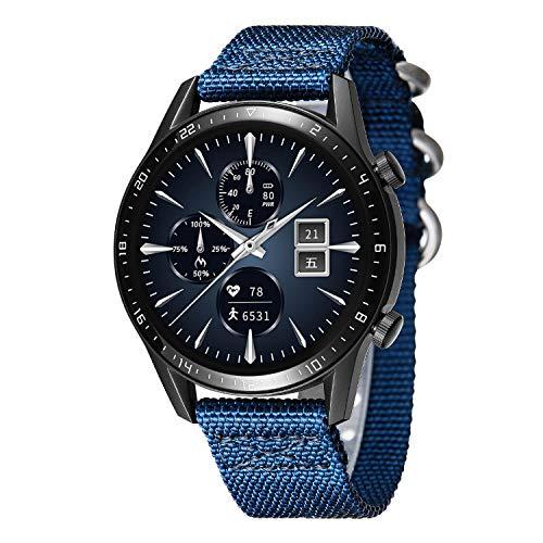 BINLUN Bandas de Reloj compatibles con Huawei GT / GT2 42mm 46mm / Huawei Watch 2 Classic/Sport Smartwatch NATO Zulu Nylon Thick G10 Reemplazo Original de Correas balísticas Premium 20mm 22mm