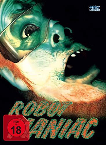 Robot Maniac - Mediabook - Cover A - Limited Edition auf 666 Stück - Uncut   (+ DVD) [Blu-ray]