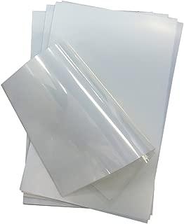 Waterproof Inkjet Screen Printing Positive Milky Transparency Film 8.5