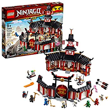 LEGO NINJAGO Legacy Monastery of Spinjitzu 70670 Battle Toy Building Kit Includes Ninja Toy Weapons and Training Equipment for Creative Play  1,070 Pieces