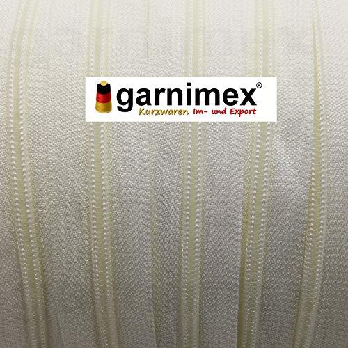 Non divisibile Chiusura Lampo Colore 01 Bianco garnimex 35 cm x 10 Pezzi