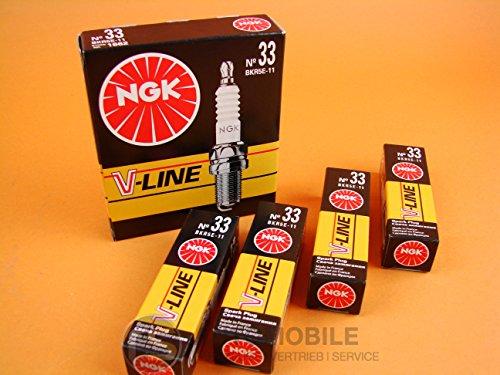 bester Test von nissan micra gebraucht 4 NGK V-LINE 33BKR5E-11 Zündkerze