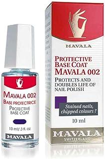 Mavala Protective Base Coat 002 10 ml/ 0.3 fl. Oz, Pack of 1 | Double action protective base coat which protects the nail ...