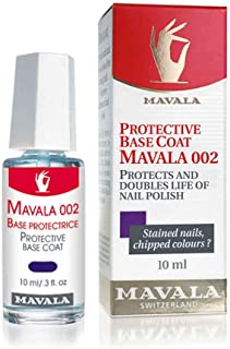 Mavala Protective Base Coat 002 10 ml/ 0.3 fl. Oz, Pack of 1