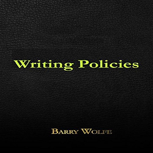 Writing Policies audiobook cover art