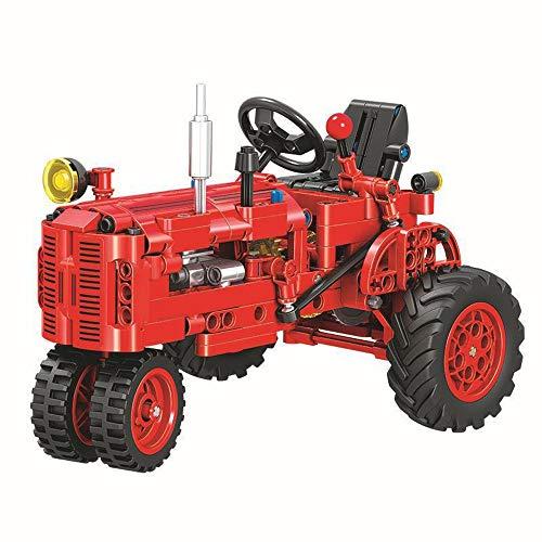 Modbrix Technik Bausteine Traktor, Konstruktionsspielzeug, 302 Teile