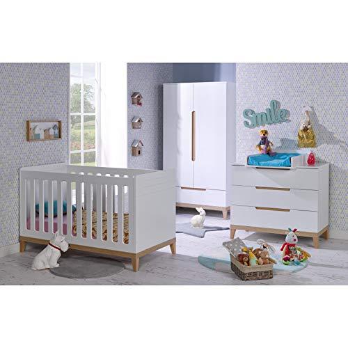 Alfred & Compagnie Chambre bébé Siki blanc