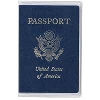 StoreSMARTプラスチックパスポートカバー–rspc1204 010-Pack