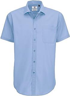 B&C Men's Smart Short Sleeve Shirt