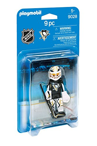 Playmobil 9028 NHL® Pittsburgh Penguins® Goalie Eishockey Torwart