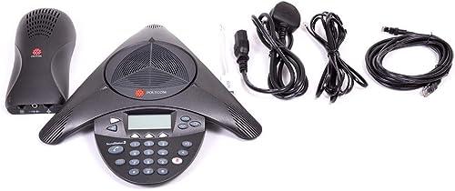 Polycom SoundStation 2 Téléphone de conférence (Certifié Reconditionné)