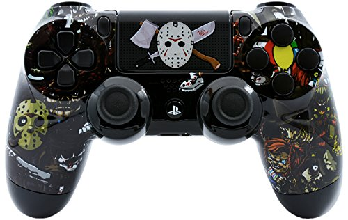 Scary Party Ps4 Custom UN-MODDED Controller Exclusive Unique Design