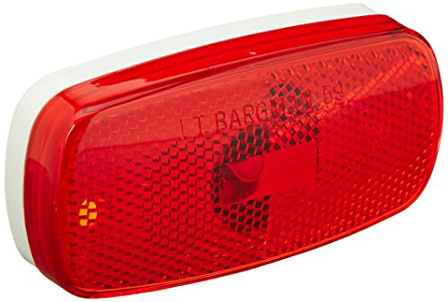 Bargman 30-59-001 Clearance/Side Marker Light, Red