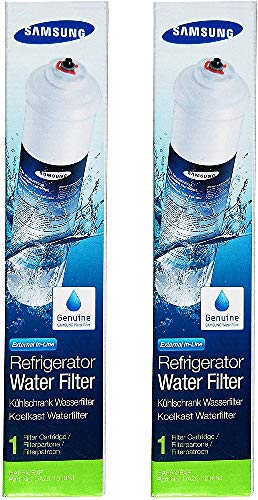 2 x Samsung Aqua Pure Plus DA29-10105J Ersatz Externer Kühlschrank Wasser Filter
