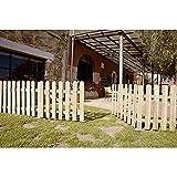 Seifil M115928 - Puerta madera para valla clasica 80 x...