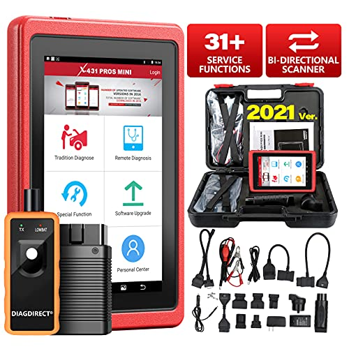 LAUNCH X431 PROS Mini 3.0 (Same Function as X431 V+) Bi-directional Scan Tool OE-Level Full System Automotive Diagnostic...