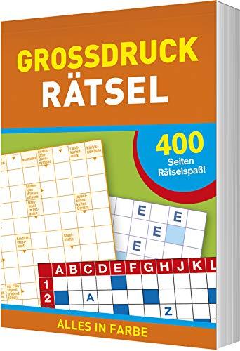 Großdruck-Rätsel: 400 Seiten Rätselspaß - Alles in Farbe