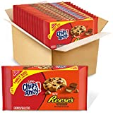 Chips Ahoy! Chewy Reese's Peanut Butter Cup Chocolate Cookies, Twelve 14.25oz Packages, 12Count